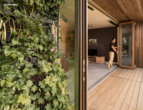 Solarlux bi-fold doors